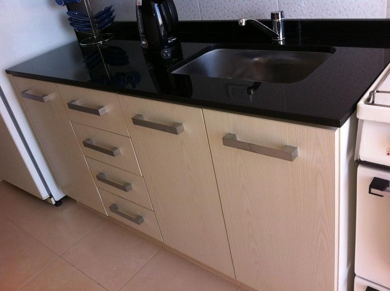 Mesadas de cocina en granito negro absoluto nacional for Cocinas con granito negro
