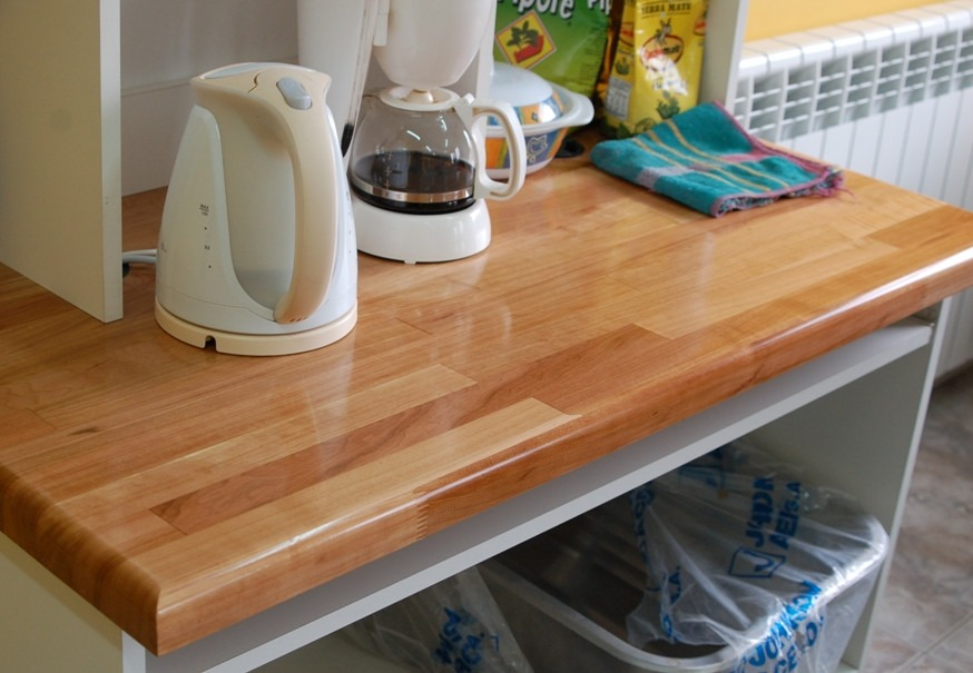 muebles de cocina con mesada mesadas de madera mesadas para cocina ba o en finger