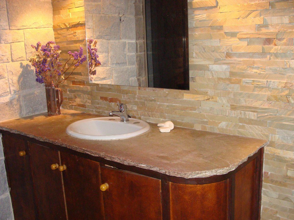Mesadas de piedra para ba os cocinas y parrilleros 4 - Picas de piedra para bano ...