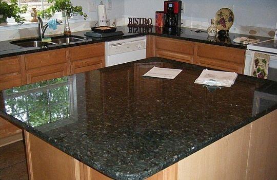 Mesadas en granito 120x055 en granito gris en for Mesadas para cocina