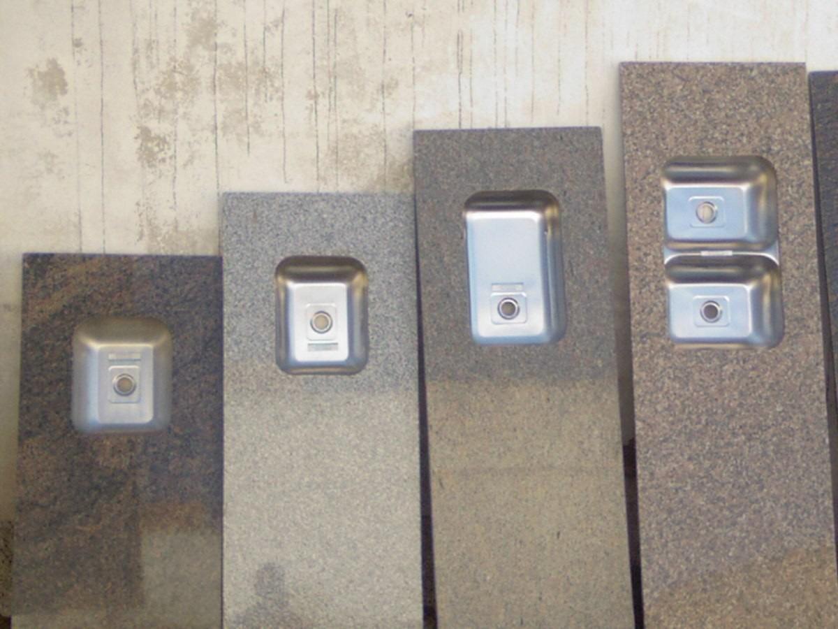 Mesadas En Granito 120x055 En Granito Gris En