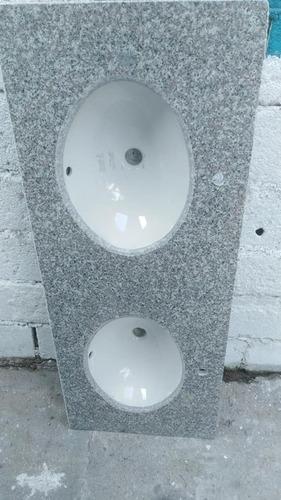 mesadas para cocina  en granito gris. 1.20x60.