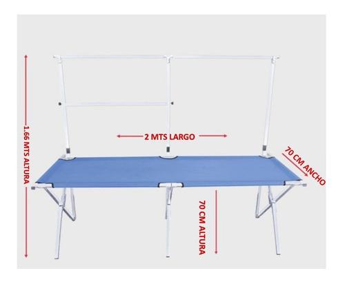 mesa/exhibidor de venta plegable