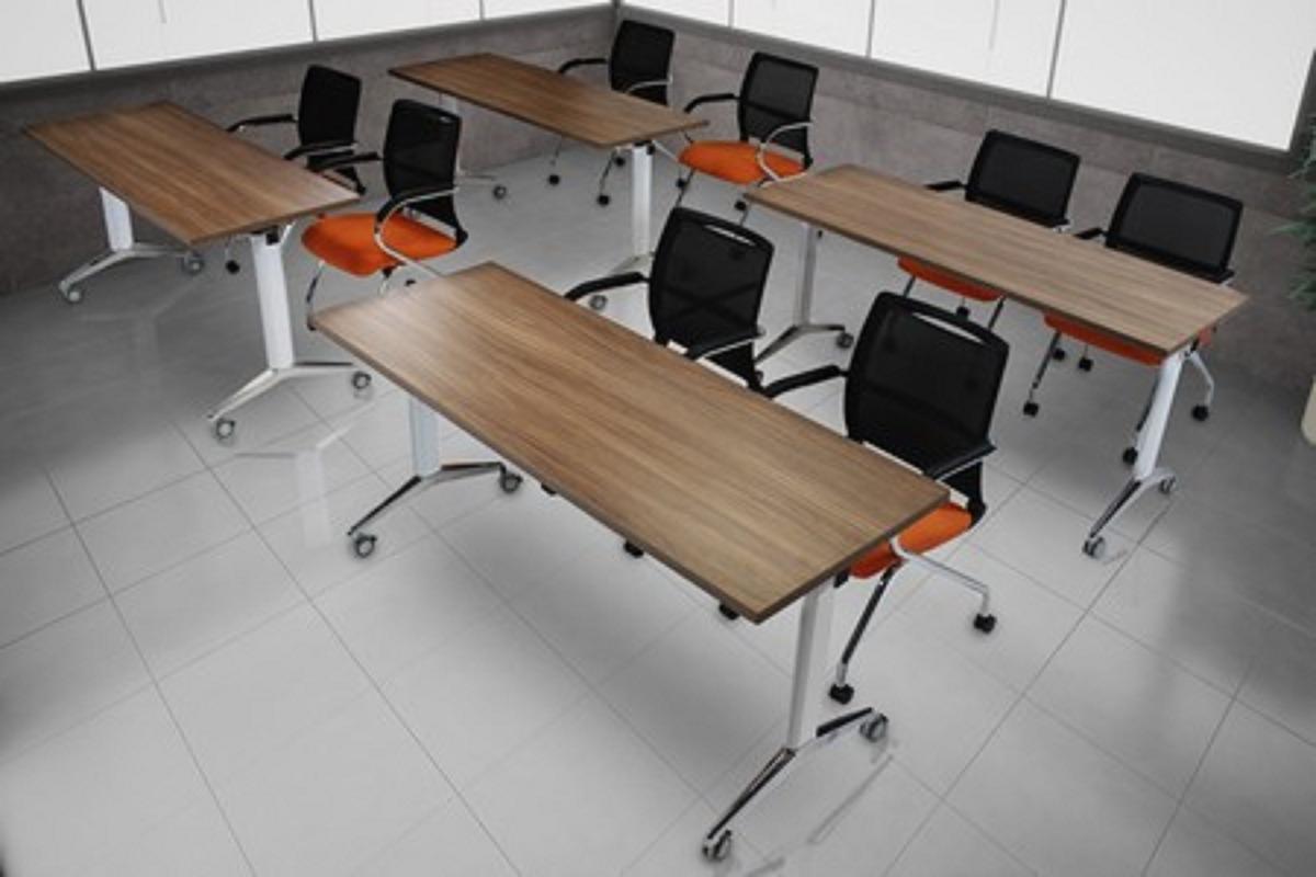 Mesas ahd para capacitaci n 6 en mercado libre - Mesas abatibles de pared ...