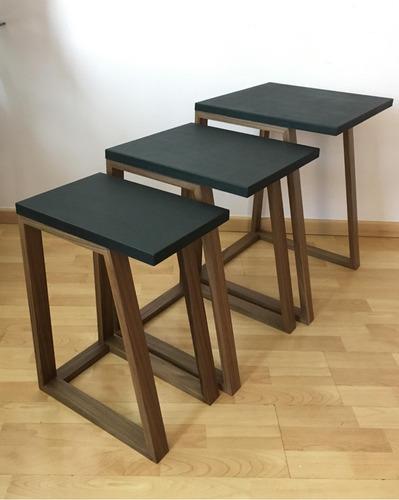 mesas auxiliares para