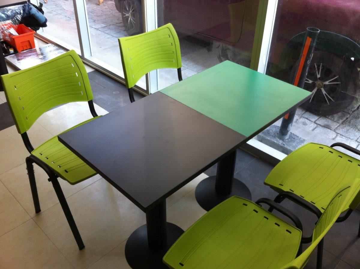 Mesas cafeterias sillas cafeteria restaurant casinos for Mesas para cafeteria