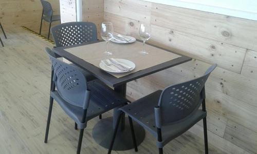 mesas cafeterias, sillas cafeteria, restaurant, casinos