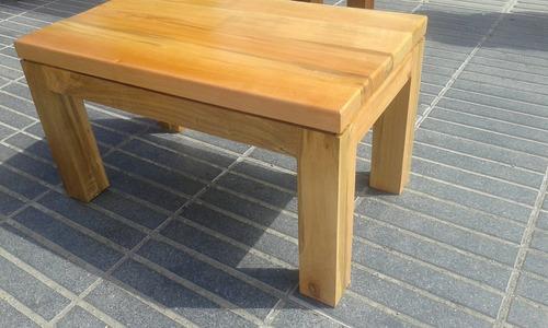 mesas centro madera