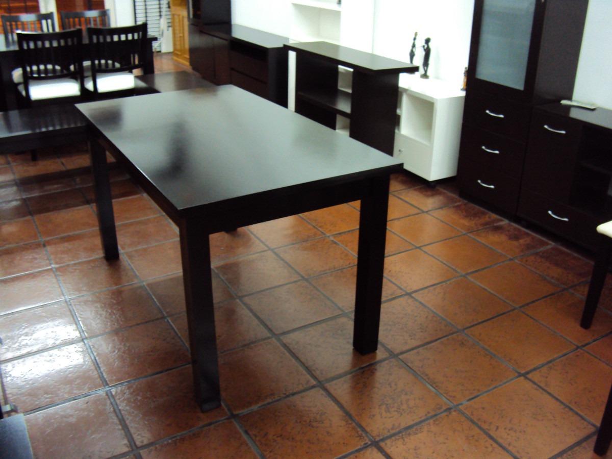 Mesas Comedor Extensible Madera 110 A 160x80cm - $ 7.843,00 en ...