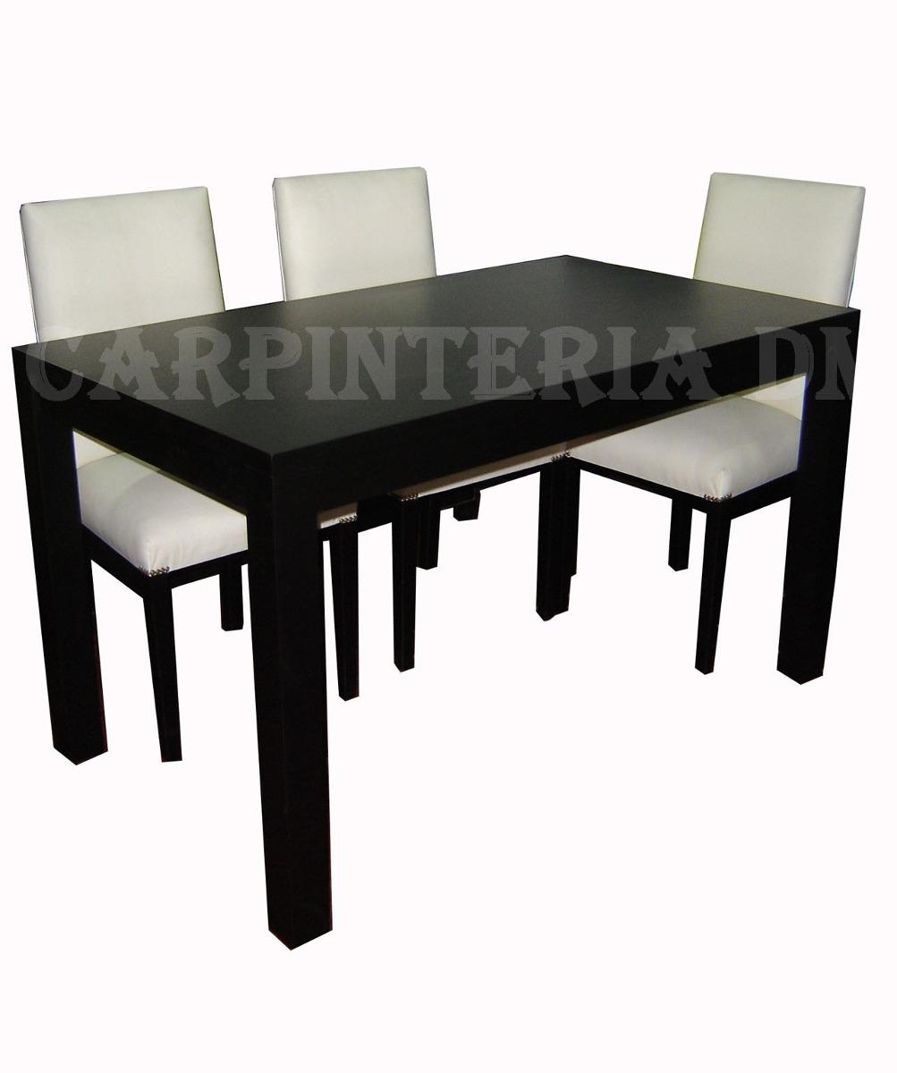 Patas de madera para mesas de comedor patas de madera - Mesa comedor wengue ...