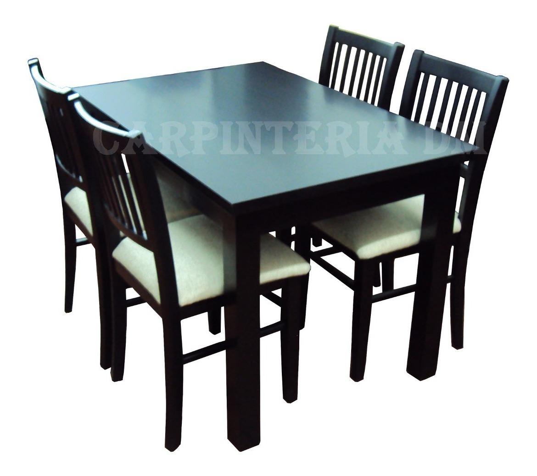 Mesas Comedor Madera Extensible 107 A 152x75cm Carpinteriadm