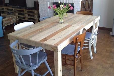 Mesas comedor r sticas vintage sustentable atu medida 8 - Dimensiones mesa comedor ...