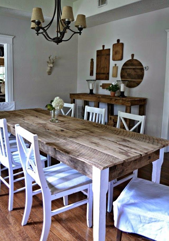 Mesas Comedor Rústicas Vintage Sustentable Atu Medida 8 Pers ...