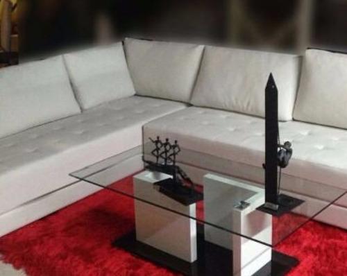 Mesas d centro moderna para juego recibo sala minimalista - Mesas de centro modernas para sala ...