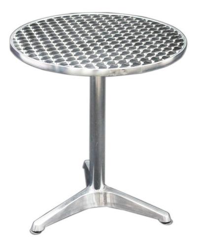 mesas de aluminio resistente al agua 70 cm diametro