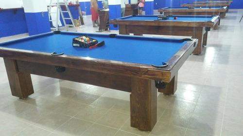 mesas de billar nuevas con accesorios