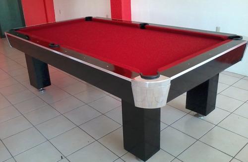 mesas de billar pool, carambola o convertibles