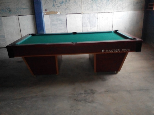 mesas de billar profesionales. master pool de piedra italia