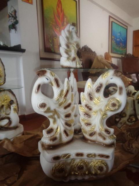 mesas de centro artesania adornos para salas