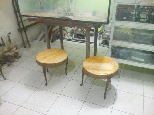 Mesas de centro de bronce y marmol s 250 00 en mercado - Mesas de marmol precios ...