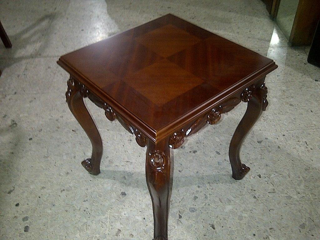 Mesas de centro de rosas en cedro rojo talladas a mano - Precios de mesas de centro ...
