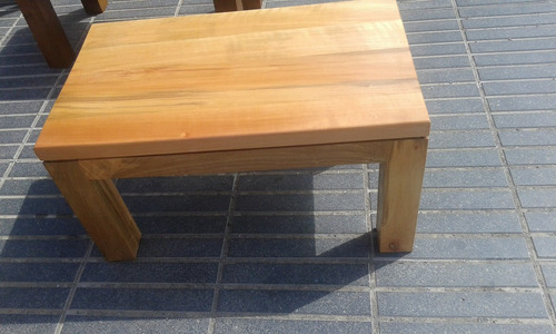 mesas de centro en  madera nativa