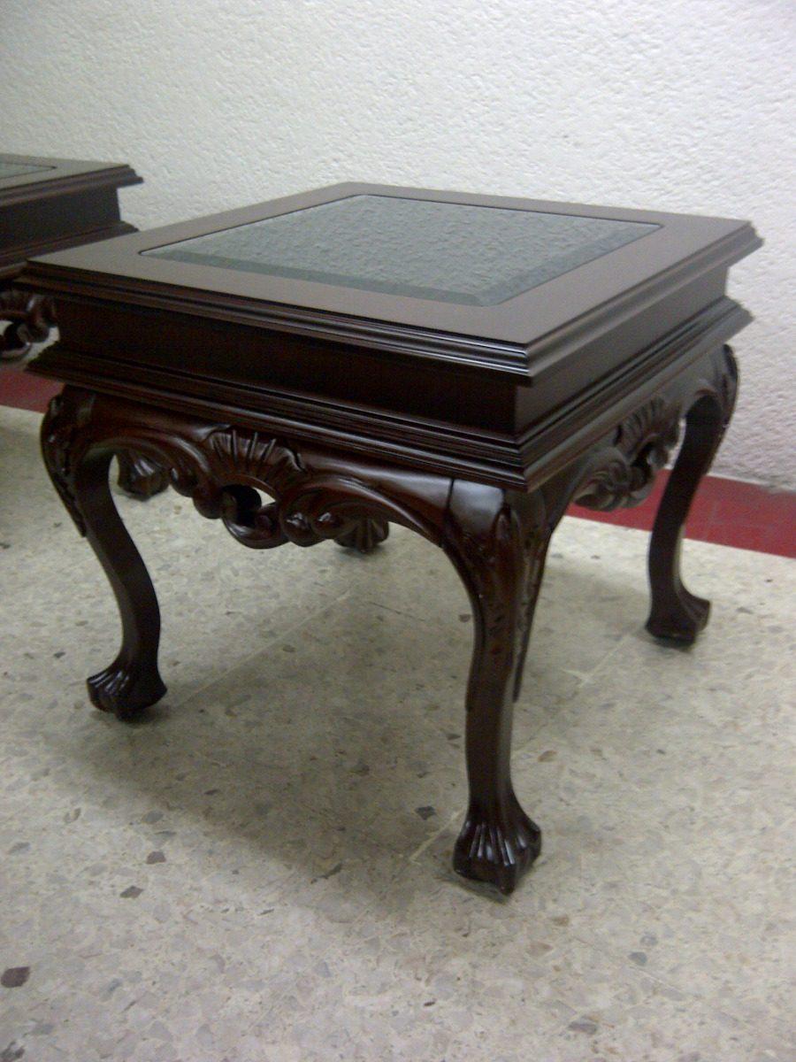 Mesas de centro juguetero en madera de cedro rojo 3 pzs - Mesas de maderas ...