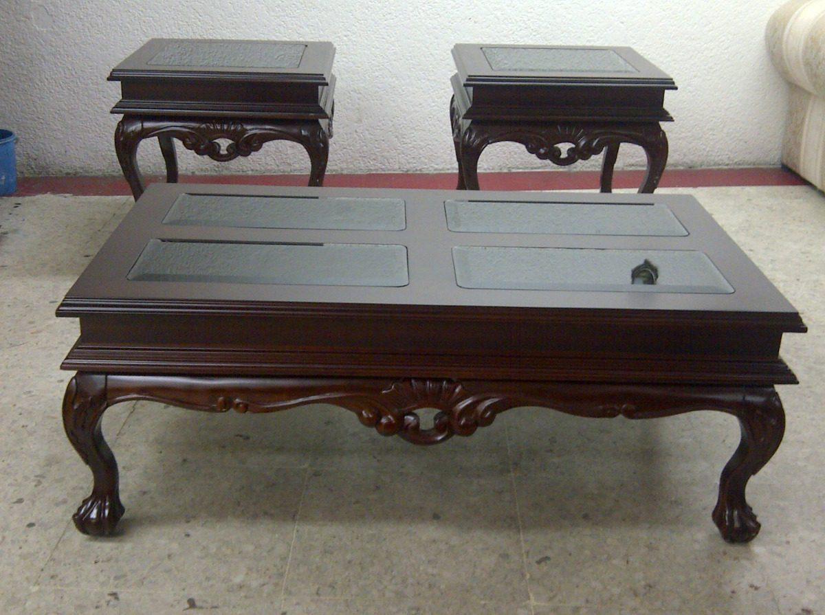 Mesas de centro juguetero en madera de cedro rojo 3 pzs - Mesas para exterior de madera ...