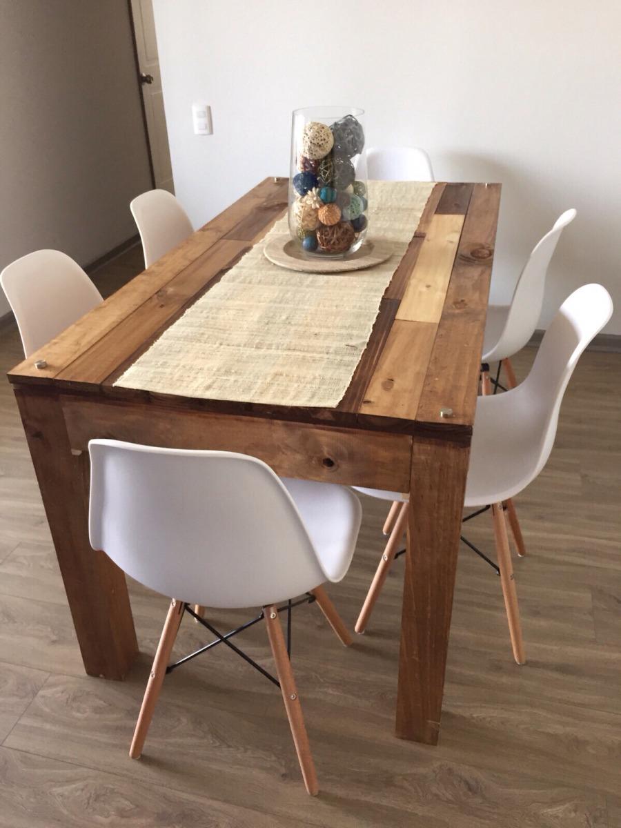 Mesas de comedor en mercado libre for Mesas de comedor rectangulares