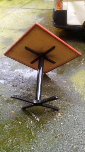 mesas de corian 80x80 remato