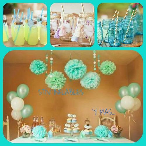 mesas de dulces inflables y mas