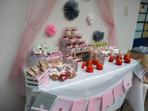 ¡mesas de dulces para tus eventos!