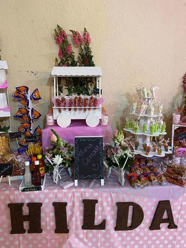 mesas de dulces y detalles  para todo tipo de eventos