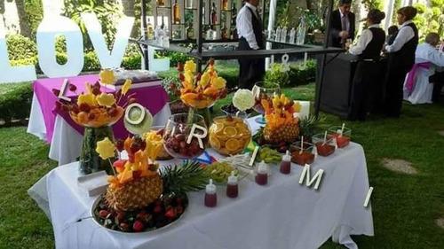 mesas de dulces,botana,fruta,lokas y más variedad,taquizas