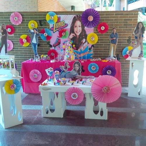 mesas de fantasía, festejos, decoraciones, globos.