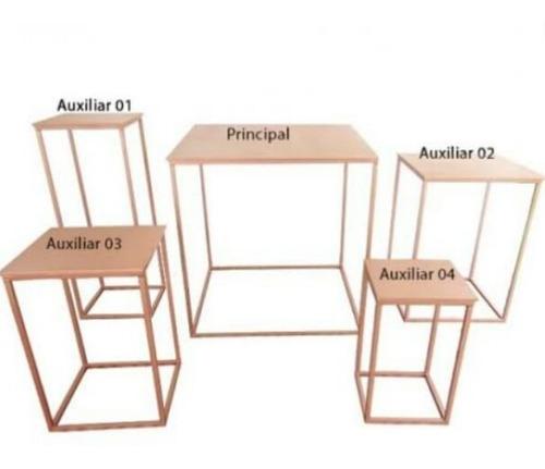 mesas de festa, fabricação. todos os modelos sob encomenda.
