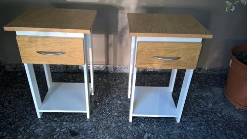 mesas de luz $ 600 o dos por $ 1000