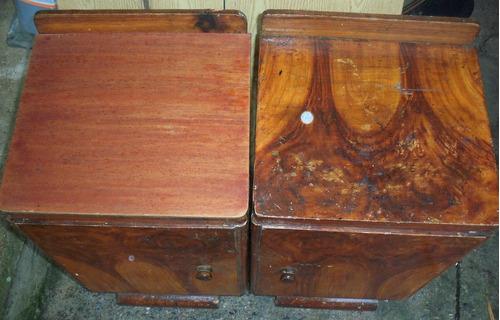 mesas de luz antiguas
