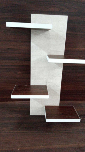 mesas de luz flotantes. estantes flotantes. cubos decorativo