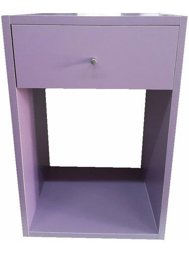 mesas de luz melamina 18mm