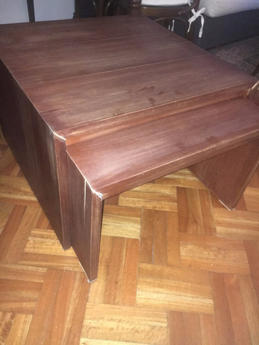 mesas de madera - 2 (juego) - precio por las dos