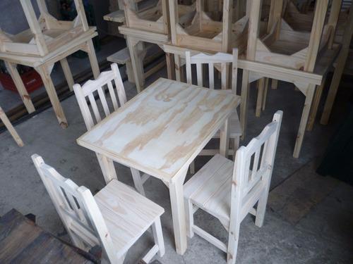 mesas de madera para bares,boliches,restoran