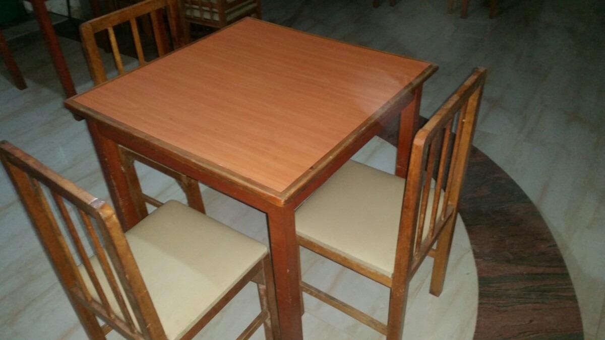 mesas de madera para restaurant o cafetera