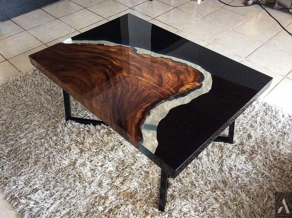 Mesas de madera y resina 15 en mercado libre - Mesas de exterior de resina ...