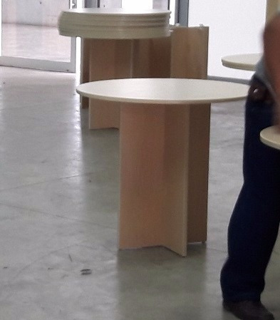 mesas de melamina
