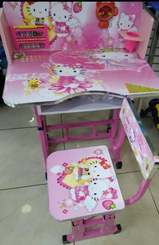 mesas de niños y niñas de dibujitos