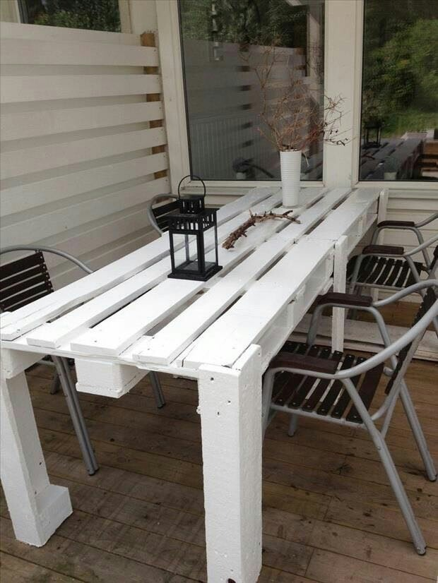 mesas palets pallet rusticas por encargue - Mesas Con Palets