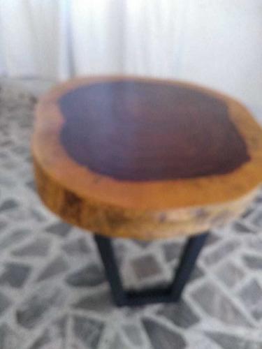 mesas de parota