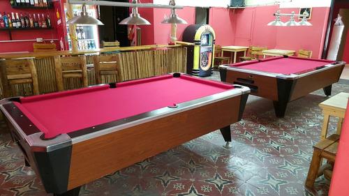 mesas de pool alquiler a porcentaje