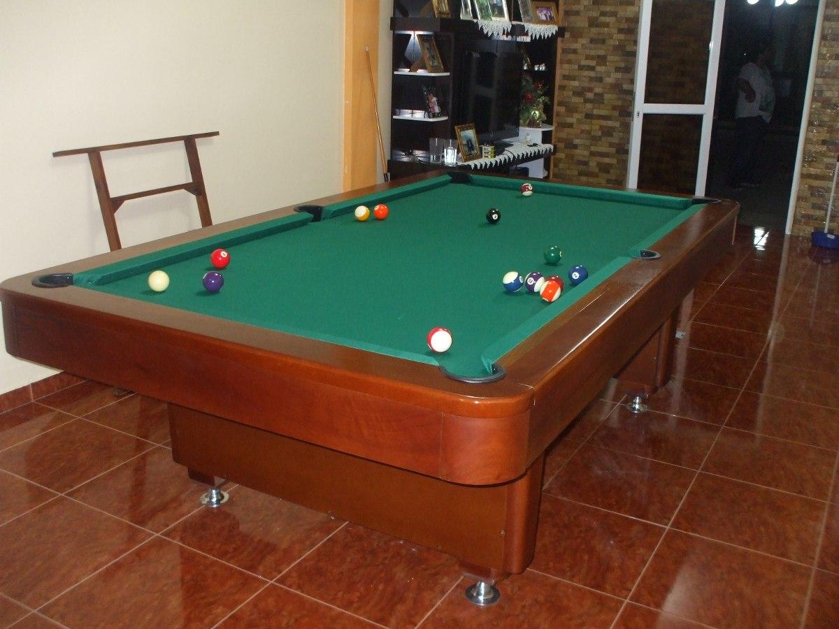 Mesas de pool y billar profesionales bs en mercado libre - Medidas mesa billar profesional ...